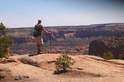 Ric Overlooking Tsegi Canyon